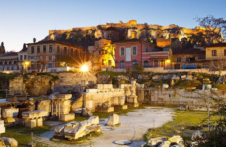 Athens, Hadrian's Library