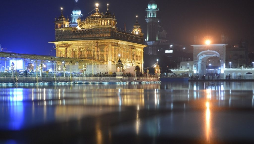 Amritsar represents Sikhism, Hinduism, Buddhism equally