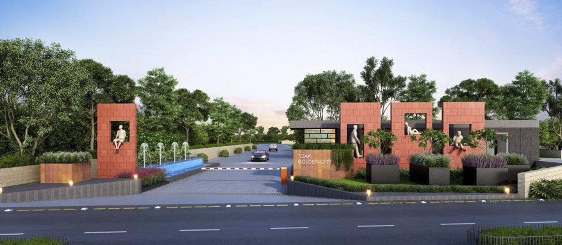 Dholera SIR residential area